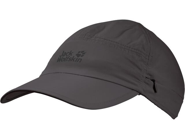 Jack Wolfskin Supplex Canyon Cappello, grigio